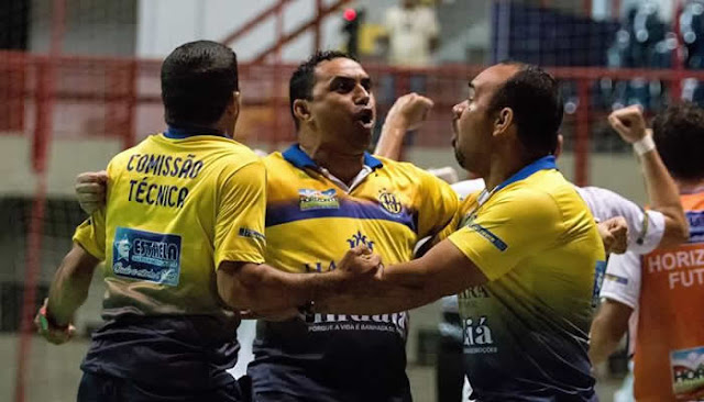 Em jogo épico, Horizonte bate o Atlântico-RS e vai as semis da Copa do Brasil de Futsal.