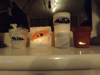 Halloween-i dekoráció házilag
