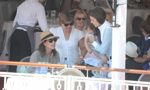 Monaco Royals at the Monaco 2015 Global Champions tour