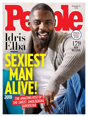 IdrisElba is People Magazine's 2018 #SexiestManAlive