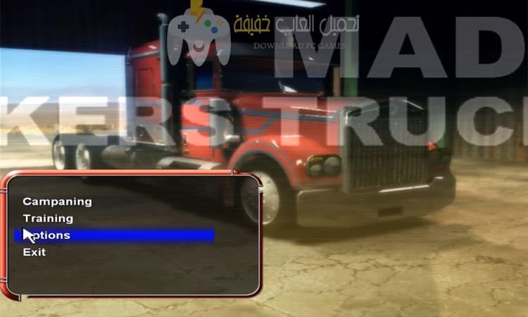 تحميل لعبة سباق الشاحنات Mad Truckers للكمبيوتر