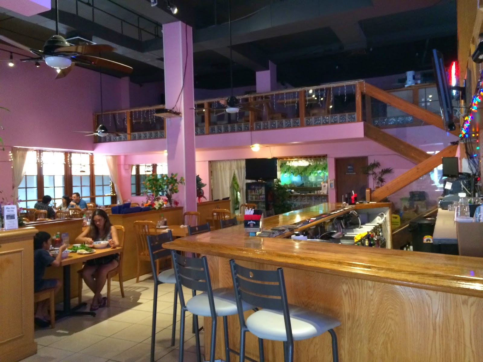 Large Two Story Restaurant And Bar