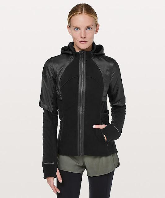 d9c5997e3 Fleece of Mine Jacket in Dark Olive and Black.