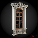 ornamente geam fatade de case exterior baghete decorative win-032