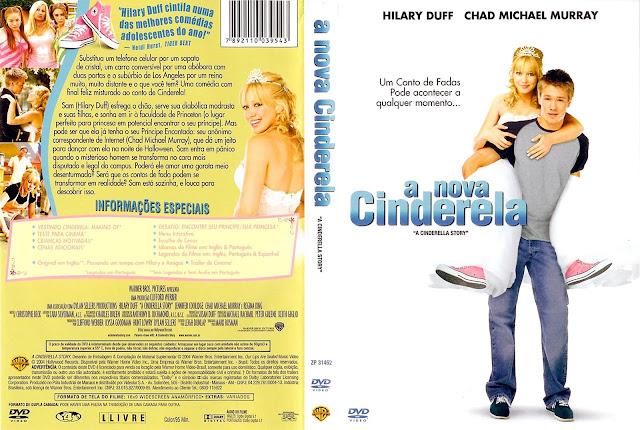 Capa DVD A Nova Cinderela