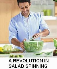 A revolution in salad spinning
