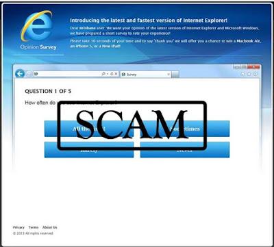Hati - Hati Mengisi Survey Berhadiah, Mencuri Database Pribadi Anda