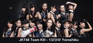 JKT48 Team KIII - 1!2!3!4! Yoroshiku | X-Musik