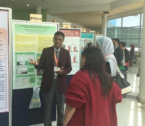 Poster Presentation at IMEC-2017, Malaysia