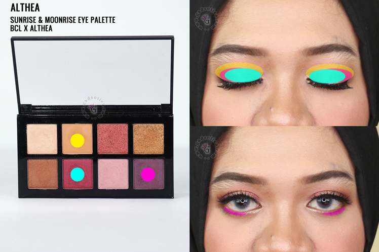 Althea Sunrise & Moonrise Eye Palette