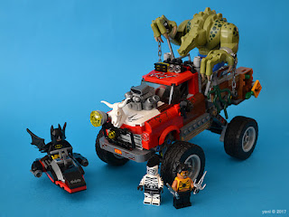 the lego batman movie - killer croc tail-gator: the beauty shot