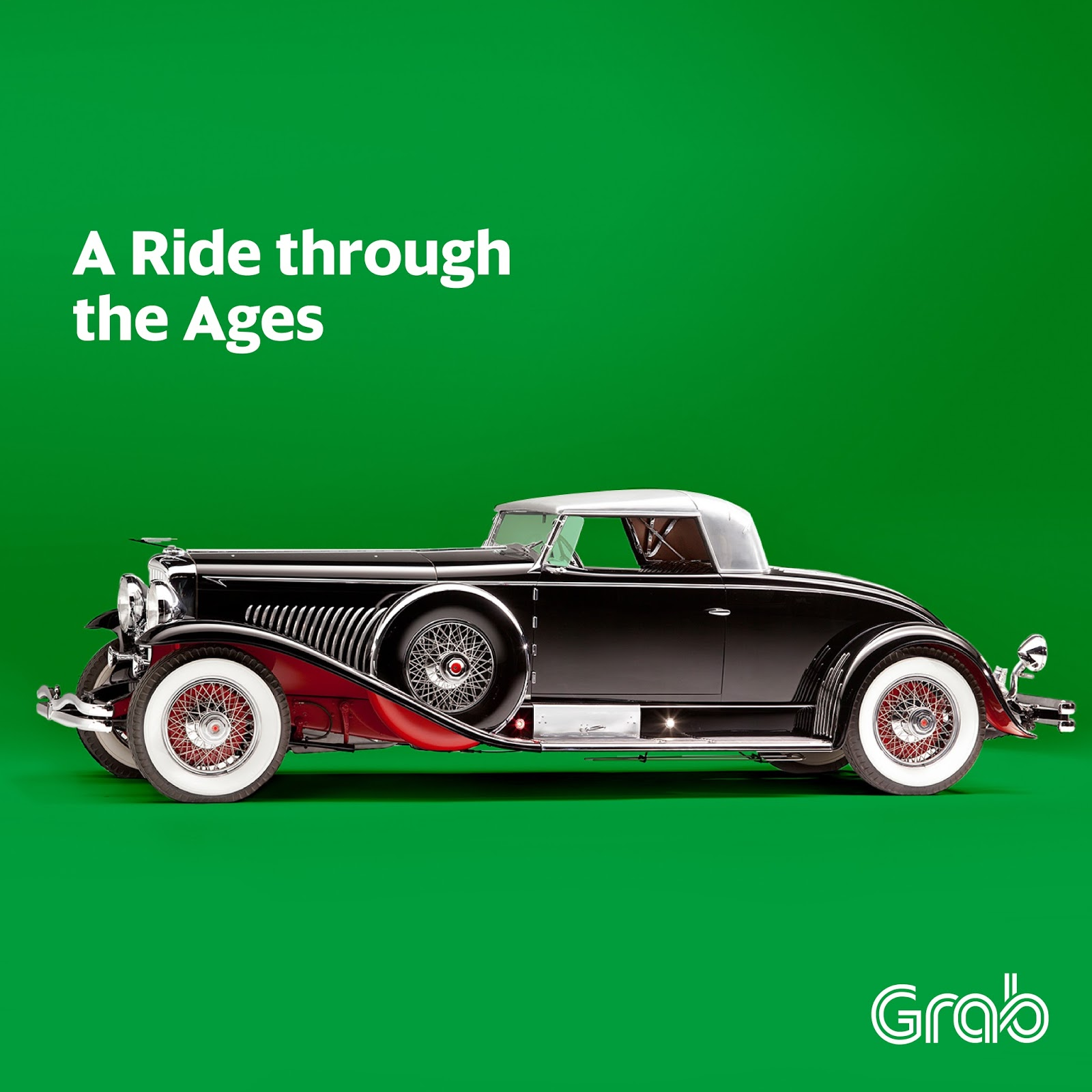 vintage grabcars to tour passengers around bgc from june 10 12 for independence day and grabs 4th anniversary