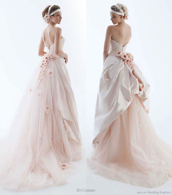 Your Wedding Support: Cotton Candy Wedding Dresses