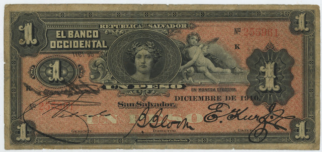 Billete 1 peso