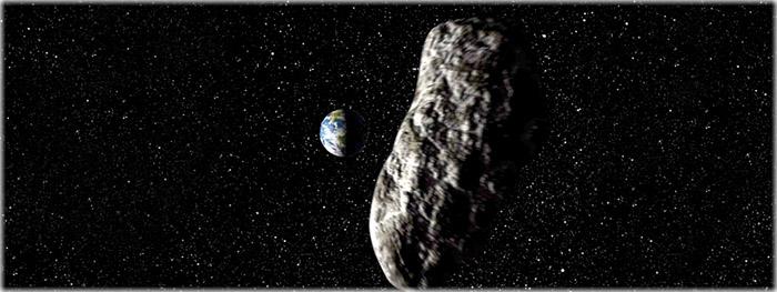 asteroide máxima aproximação com a Terra em 7 de março de 2018