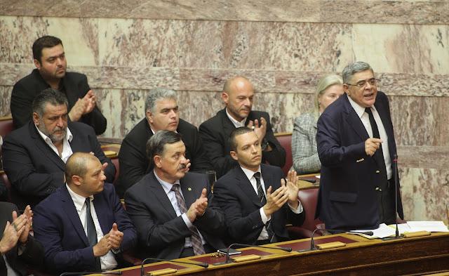 Έγραψαν οι εφημερίδες για την δυναμική ομιλία του Αρχηγού της Χρυσής Αυγής στην Βουλή για την διαφθορά στην Δικαιοσύνη