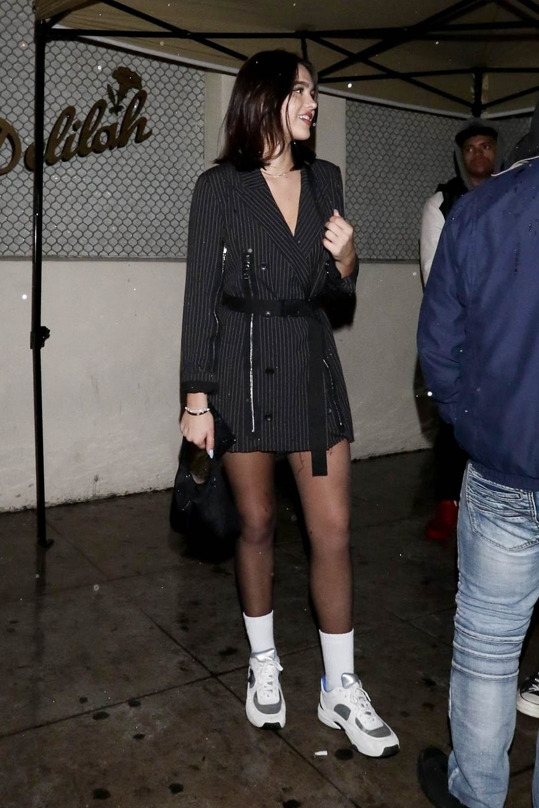 Amelia Gray Hamlin - At Delilah Nightclub in West Hollywood - 02/02/19