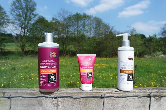 urtekram body care products