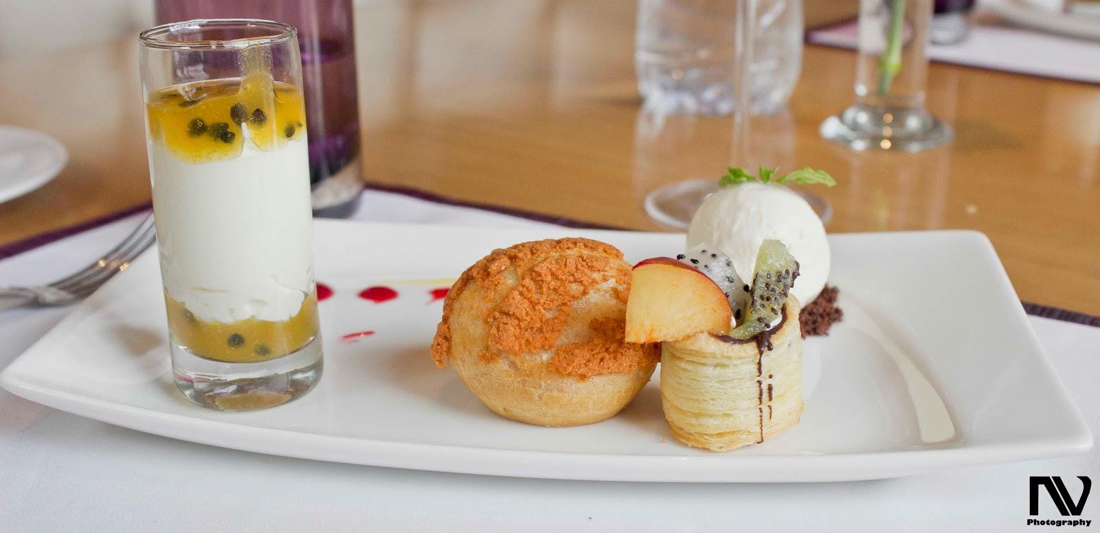 Desserts at Kiyan
