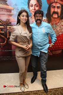Shriya Saran Nandamuri Balakrishna at Gautamiputra Satakarni Team Press Meet Stills  0104.JPG