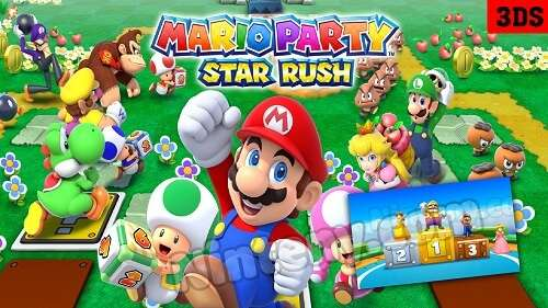 Mario Party Star Rush Cia USA - EUR