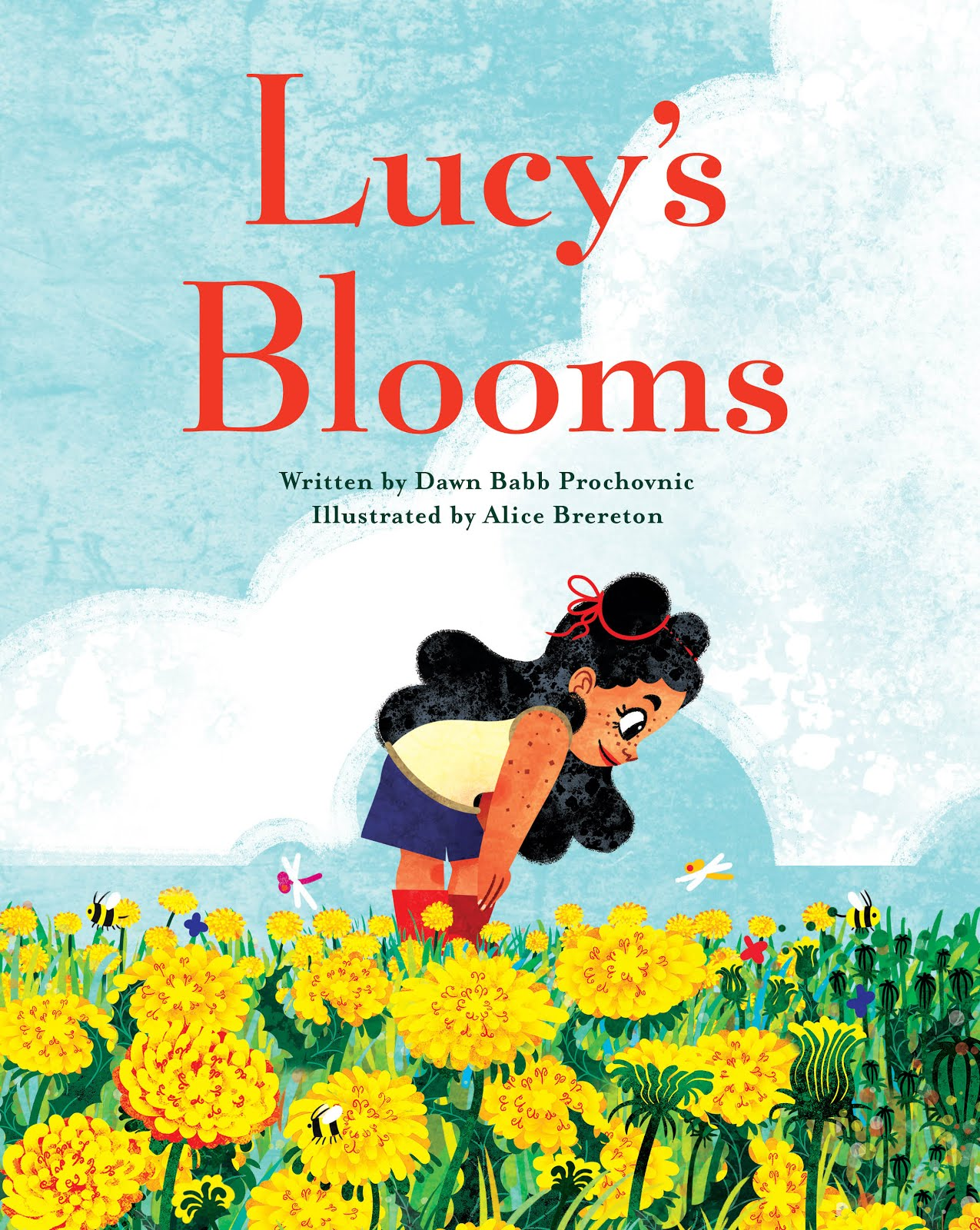 Click on the image below to view the book trailer for Lucy's Blooms, with music by Maiah Wynne!