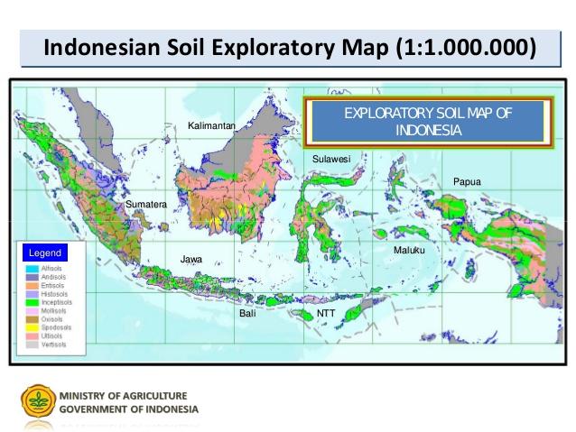 Tanah dan Sebarannya di Indonesia