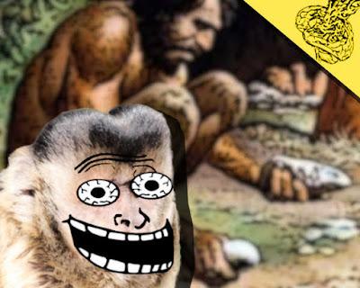 Como macacos-prego quase ferraram os historiadores...