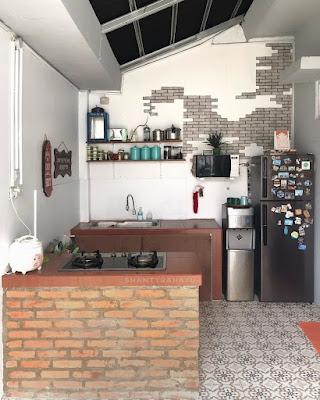 dekorasi dapur minimalis sederhana