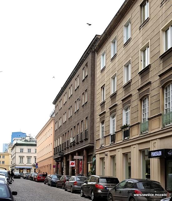Warta Warszawa Warsaw Bohdan Lewandowski 1947 realizm socjalistyczny architektura