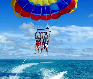 Parasailing adventure 2017