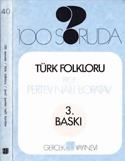 Pertev Naili Boratav - 100 Soruda - Türk Folkloru