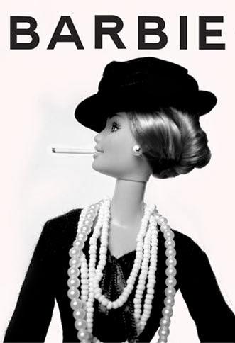 Barbie Coco Chanel - Réplica de Jocelyne Grivaud