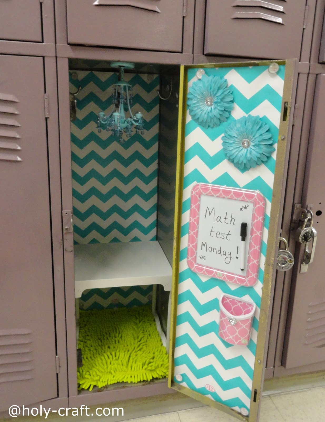 Pictures Of Lockers Decorated