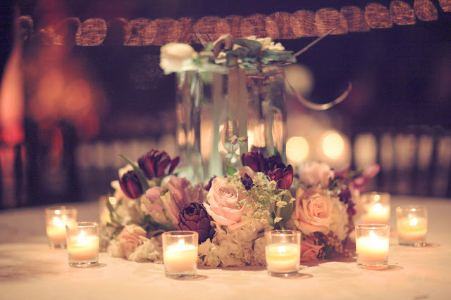 Rustic+classic+traditional+black+tie+platinum+wedding+bride+groom+rowing+country+club+purple+modern+succulents+succulent+centerpieces+lighting+lights+Gideon+Photography+31 - Black Tie & Cowboy Boots Required