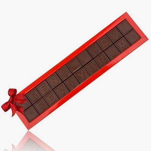 Harfli Çikolatalar