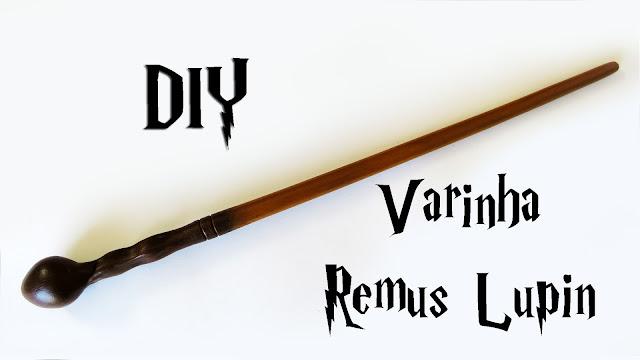 DIY: Como Fazer a Varinha do Professor Remus Lupin - Harry Potter