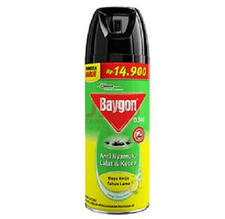 Membasmi Lalat Dengan Obat Nyamuk baygon Aerosol Citrus