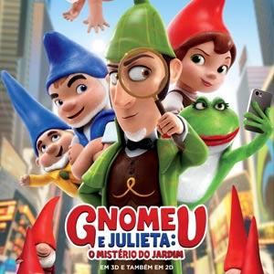 Poster do Filme Gnomeu e Julieta: O Mistério do Jardim
