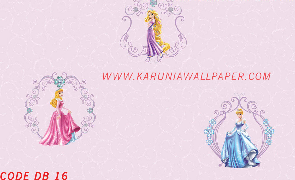 jual wallpaper princess disney