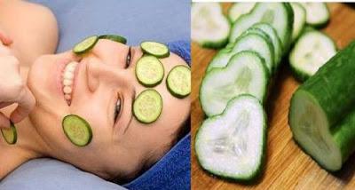 mentimun untuk memberikan perawatan kecantikan wajah