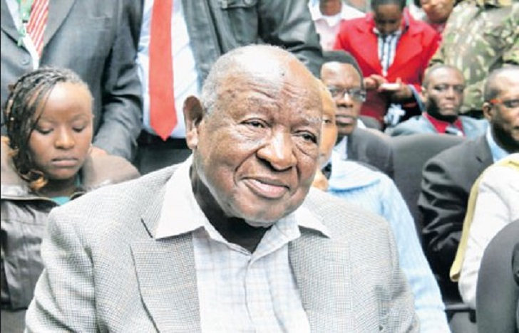 Kenneth Matiba, Second Liberation Hero Passes On