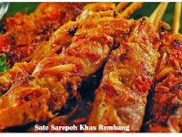 Resep Sate Sarepeh Khas Rembang Nan Istimewa