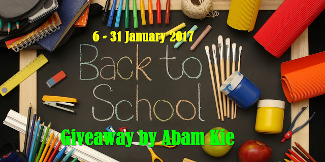 Back To School Giveaway by Abam Kie