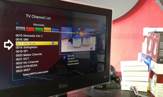 cara memindahkan tv channel list sesuai keinginan