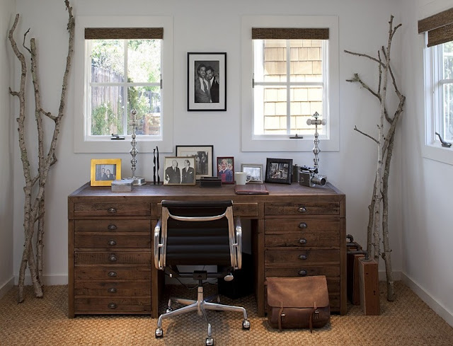 best home office desk rustic design and decorating ideas pictures