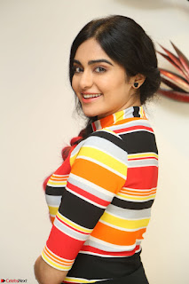 Adha Sharma in a Cute Colorful Jumpsuit Styled By Manasi Aggarwal Promoting movie Commando 2 (83).JPG