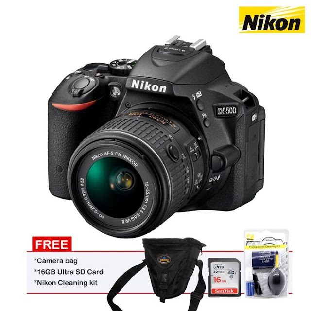 Nikon D5500 18-55mm VR Lens