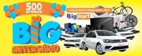 Cadastrar Promoção Big Mart Supermercados 2019 - Aniversário 20 Anos