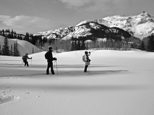 A Joyous (read hilarious) Backcountry Snowshoe Adventure With Kelli and Caleb